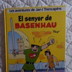 Cómics: LES AVENTURES DE JAN I TRENCAPINS N. 1 - EL SENYOR DE BASENHAU - CATALA. Lote 45720005