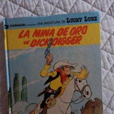 Cómics: UNA AVENTURA DE LUCKY LUKE - LA MINA DE ORO DE DICKD DIGGER N. 49. Lote 45721009