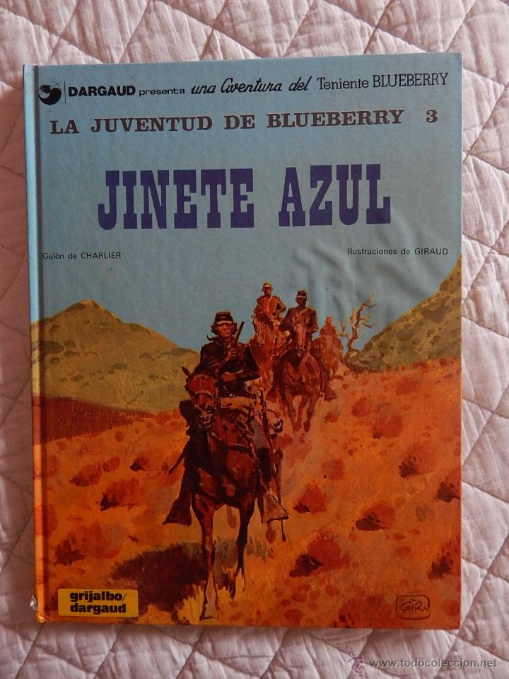 UNA AVENTURA DEL TENIENTE BLUEBERRY N.14 - LA JUVENTUD DE BLUEBERRY - JINETE AZUL (Tebeos y Comics - Grijalbo - Blueberry)