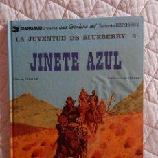 Cómics: UNA AVENTURA DEL TENIENTE BLUEBERRY N.14 - LA JUVENTUD DE BLUEBERRY - JINETE AZUL. Lote 45722882