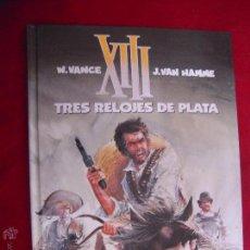 Cómics: XIII 10 - TRES RELOJES DE PLATA - VANCE & HAMME - CARTONE. Lote 45792763