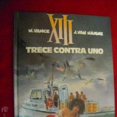 Cómics: XIII 8 - TRECE CONTRA UNO - VANCE & HAMME - CARTONE. Lote 45792968