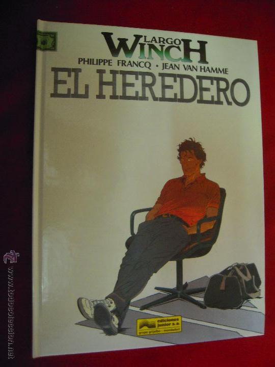 LARGO WINCH 1 - EL HEREDERO - FRANCQ & HAMME - CARTONE (Tebeos y Comics - Grijalbo - Largo Winch)