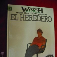 Cómics: LARGO WINCH 1 - EL HEREDERO - FRANCQ & HAMME - CARTONE. Lote 45793303