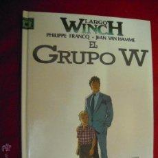 Cómics: LARGO WINCH 2 - EL GRUPO W - FRANCQ & HAMME - CARTONE. Lote 45793321