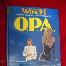 Cómics: LARGO WINCH 3 - O.P.A. - FRANCQ & HAMME - CARTONE. Lote 45793340