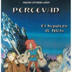 Cómics: PERCEVAN. Nº 2. EL SEPULCRO DE HIELO. FAUCHE-LETURGIE-LUGUY. JUNIOR / GRIJALBO 1985. (RF.MA)B/15. Lote 45889993