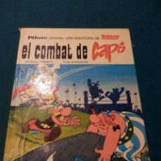 Cómics: ASTÈRIX - EL COMBAT DE CAPS - COMIC EN CATALÀ - GOSCINNY & UDERZO - PILOTE -MARS-IVARS EDITORES 1976. Lote 45903099