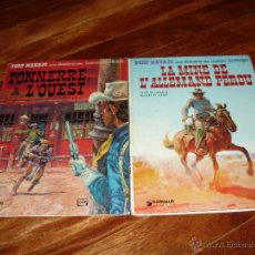 Fumetti: CHARLIER GIRAUD LA MINE DE L´ALLEMAND PERDU TONNERRE A L'OEST DARGAUD 1966 1972 FRANCES. Lote 45935527