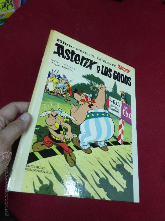 Cómics: ASTERIX Y LOS GODOS. EDITORIAL PILOTE ( BRUGUERA). EDICIÓN 1973 - Foto 5 - 45974861