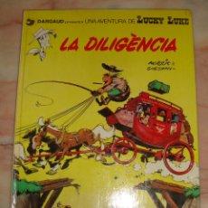 Cómics: (A1) LUCKY LUKE LA DILIGENCIA GRIJALBO DARGAUD 1983 CATALAN. Lote 261999070