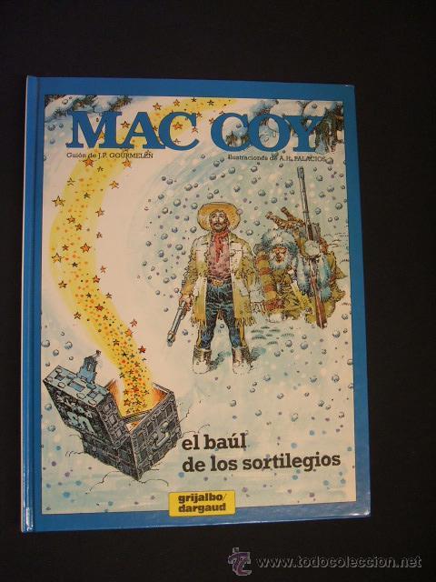 MAC COY - Nº 18 - EL BAUL DE LOS SORTILEGIOS - GRIJALBO - (Tebeos y Comics - Grijalbo - Mac Coy)