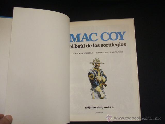 Cómics: MAC COY - Nº 18 - EL BAUL DE LOS SORTILEGIOS - GRIJALBO - - Foto 3 - 46206546