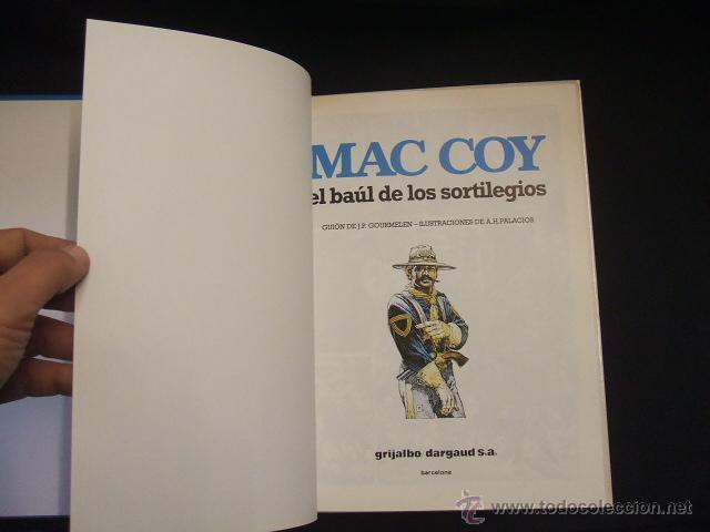 Cómics: MAC COY - Nº 18 - EL BAUL DE LOS SORTILEGIOS - GRIJALBO - - Foto 7 - 46206546