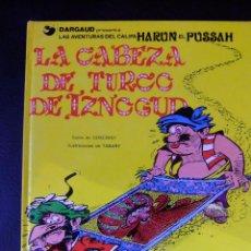 Cómics: LAS AVENTURAS DEL CALIFA HARUN EL PUSSAH Nº 6 LA CABEZA DE TURCO DE IZNOCGUD EDICIONES JUNIOR. Lote 46234252