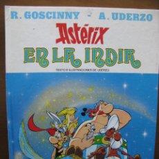 Cómics: ASTÉRIX EN LA INDIA. Nº 28. R.GOSCINNY - A.UDERZO. EDICIONES JUNIOR. GRUPO EDITORIAL GRIJALBO. 1987. Lote 46330983