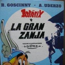 Cómics: ASTÉRIX. LA GRAN ZANJA. Nº 25. R. GOSCINNY - A. UDERZO. EDICIONES JUNIOR. EDITORIAL GRIJALBO. 1982. . Lote 46331198