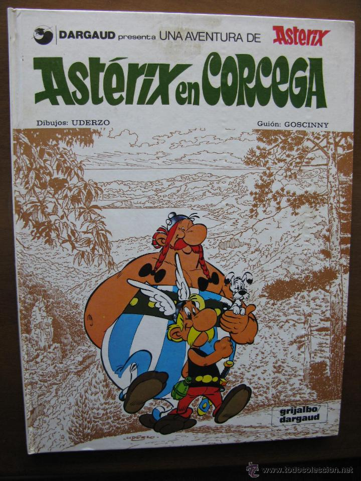 ASTÉRIX EN CORCEGA. Nº 20. UDERZO - GOSCINNY. GRIJALBO/DARGAUD. 1984 (Tebeos y Comics - Grijalbo - Asterix)