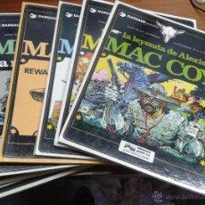 Cómics: MAC COY / LOTE DE 7 NÚMEROS / GRIJALBO 1978. Lote 46352305