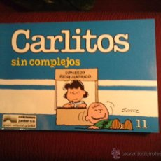 Cómics: .1 COMICS DE ** CARLITOS Y SUS COMPLEJOS ** . AÑO 1989. Nº 11 - M. SCHULZ EDIT. GRIJALBO. Lote 46470412