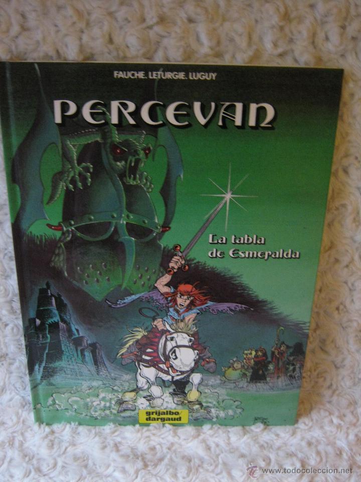 PERCEVAN N. 8- LA TABLA DE ESMERALDA (Tebeos y Comics - Grijalbo - Percevan)
