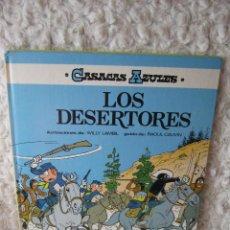 Cómics: CASACAS AZULES N. 5- LOS DESERTORES. Lote 46574566