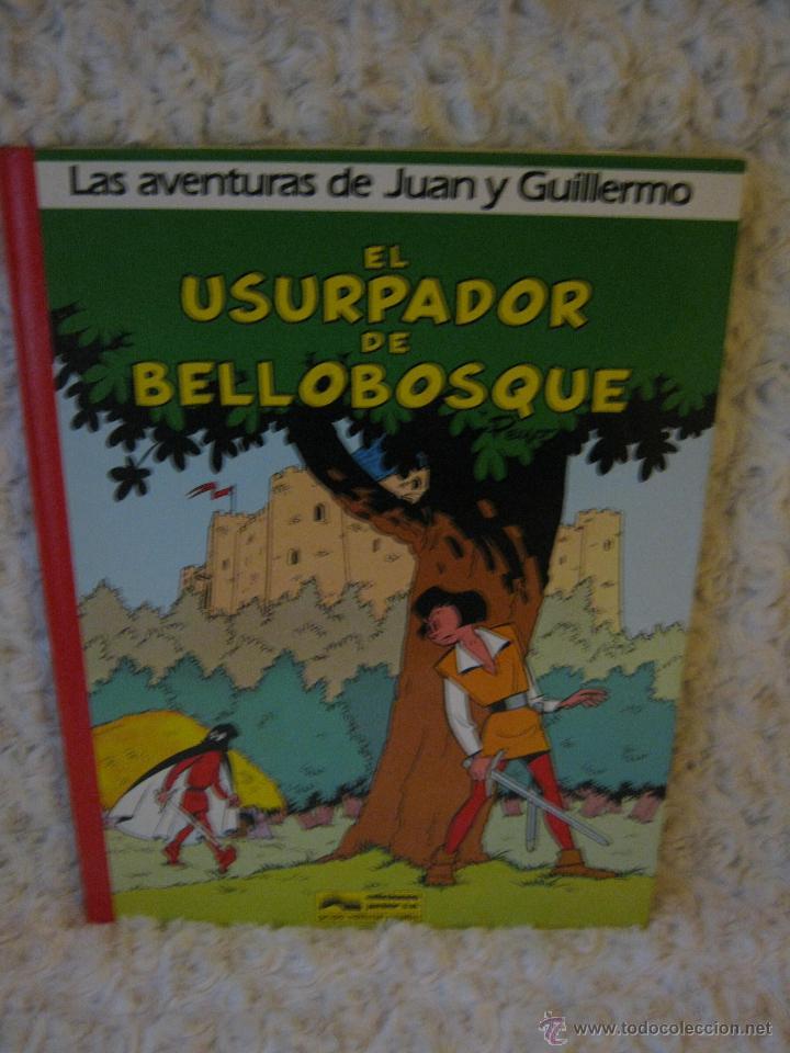 LAS AVENTURAS DE JUAN Y GUILLERMO N. 2 EL USURPADOR DE BELLOBOSQUE (Tebeos y Comics - Grijalbo - Otros)