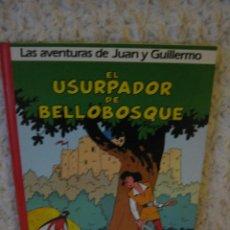 Cómics: LAS AVENTURAS DE JUAN Y GUILLERMO N. 2 EL USURPADOR DE BELLOBOSQUE. Lote 46604533