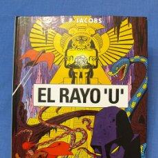 Cómics: EL RAYO 'U'. EDGAR (E.) P. JACOBS. TRAZO LIBRE, EDS. JUNIOR, GRIJALBO MONDADORI, 1991. ÁLBUM, CÓMIC. Lote 93708287