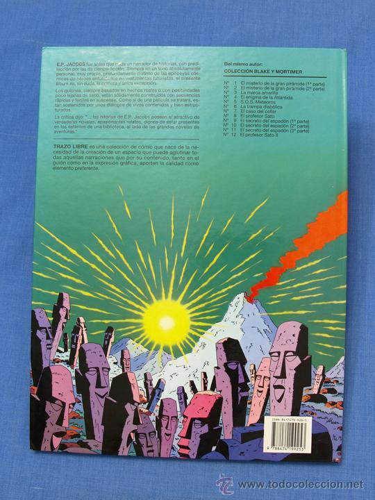 Cómics: EL RAYO U. EDGAR (E.) P. JACOBS. Trazo Libre, Eds. Junior, Grijalbo Mondadori, 1991. Álbum, cómic - Foto 2 - 93708287