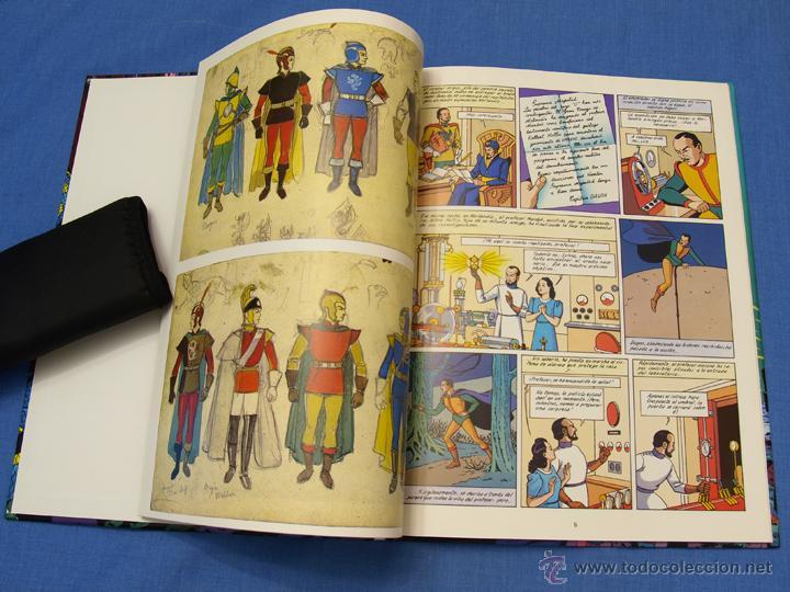 Cómics: EL RAYO U. EDGAR (E.) P. JACOBS. Trazo Libre, Eds. Junior, Grijalbo Mondadori, 1991. Álbum, cómic - Foto 5 - 93708287