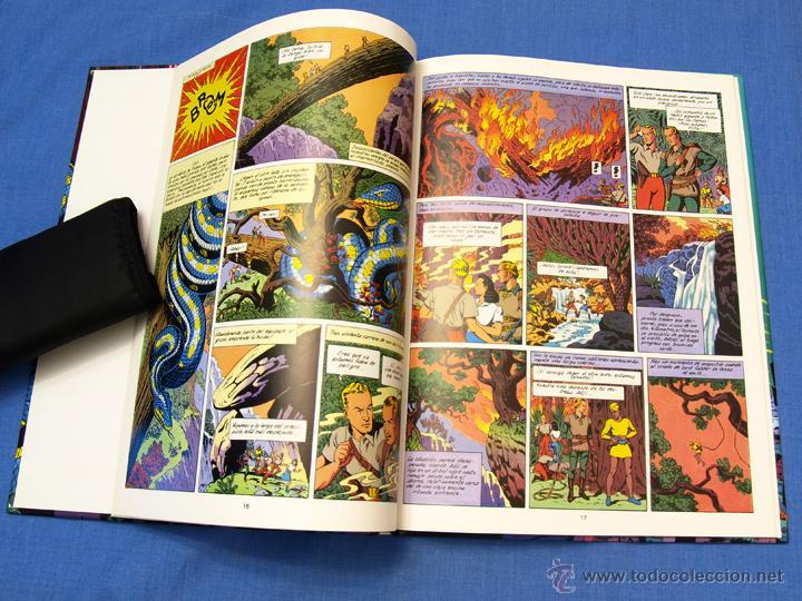 Cómics: EL RAYO U. EDGAR (E.) P. JACOBS. Trazo Libre, Eds. Junior, Grijalbo Mondadori, 1991. Álbum, cómic - Foto 6 - 93708287