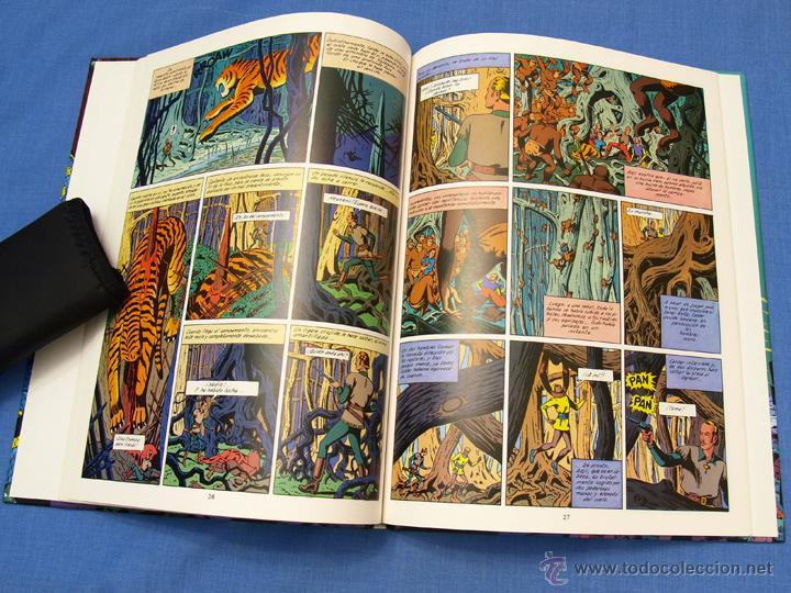 Cómics: EL RAYO U. EDGAR (E.) P. JACOBS. Trazo Libre, Eds. Junior, Grijalbo Mondadori, 1991. Álbum, cómic - Foto 7 - 93708287