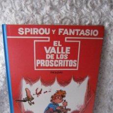 Cómics: SPIROU Y FANTASIO - EL VALLE DE LOS PROSCRITOS N. 27. Lote 54061283