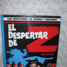 Cómics: LAS AVENTURAS DE SPIROU Y FANTASIO - EL DESPERTAR DE Z N. 23. Lote 76882758