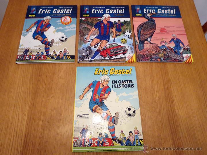 LOTE 3+1 COMICS ERIC CASTEL EN CATALAN (Tebeos y Comics - Grijalbo - Eric Castel)