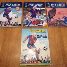 Cómics: LOTE 3+1 COMICS ERIC CASTEL EN CATALAN. Lote 46699920