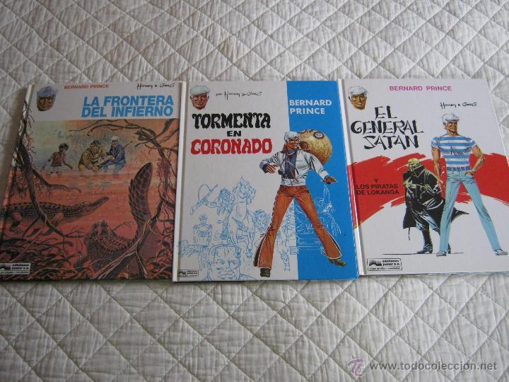 BERNARD PRINCE - TOMOS 1-2-3- (Tebeos y Comics - Grijalbo - Otros)