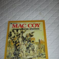 Cómics: MAC COY - MESCALEROS STATION N. 15. Lote 46755244