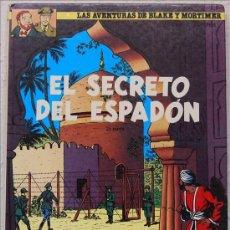 Cómics: E. P. JACOBS, BLAKE Y MORTIMER, EL SECRETO DEL ESPADÓN, 2ª PARTE, GRIJALBO. Lote 156037248