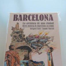Cómics: BARCELONA, LA AVENTURA DE UNA CIUDAD. GREGORI LURI. JAUME MARZAL. EDICIONES JUNIOR. TAPA DURA.. Lote 47041812