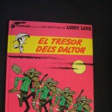 Comics : LUCKY LUKE - Nº 19 - EL TRESOR DELS DALTON - GRIJALBO - EN CATALÀ - . Lote 47086878