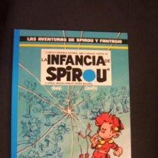 Cómics: LAS AVENTURAS DE SPIROU Y FANTASIO - Nº 24 - LA INFANCIA DE SPIROU - GRIJALBO -. Lote 47089908