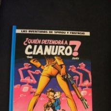 Cómics: LAS AVENTURAS DE SPIROU Y FANTASIO - Nº 21 - ¿QUIEN DETENDRA A CIANURO? - GRIJALBO -. Lote 47090023
