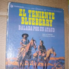 Comics : EL TENIENTE BLUEBERRY BALADA POR UN ATAUD. Lote 47269441