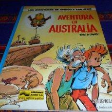 Cómics: SPIROU Y FANTASIO Nº 20 AVENTURA EN AUSTRALIA. GRIJALBO 1989. MUY BUEN ESTADO Y DIFÍCIL!!!!!. Lote 47454533