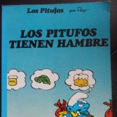 Cómics: LOS PITUFOS. POR PEYO. LOS PITUFOS TIENEN HAMBRE. EDIONES JUNIOR, GRUPO EDITORIAL GRIJALBO, 1984. RU. Lote 47457988