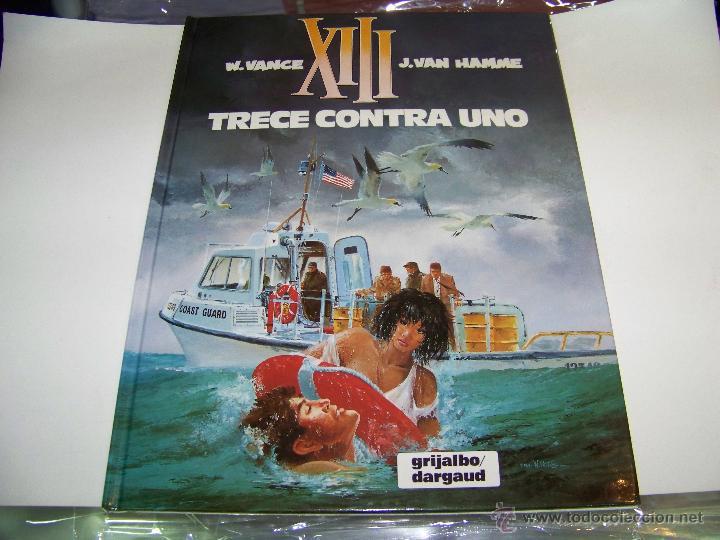 XIII Nº 8: TRECE CONTRA UNO (Tebeos y Comics - Grijalbo - XIII)