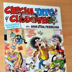 Cómics: CHICHA, TATO Y CLODOVEO - Nº 1; UNA VIDA PERRUNA - FRANCISCO IBÁÑEZ - TAPA DURA - EDIC. JUNIOR 1986. Lote 47611276