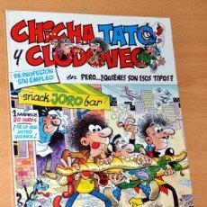 Cómics: TAPA DURA - Nº 2: CHICHA, TATO Y CLODOVEO - PERO ¿QUIÉNES SON ESOS TIPOS? - F.IBÁÑEZ - E.JUNIOR 1986. Lote 47611356